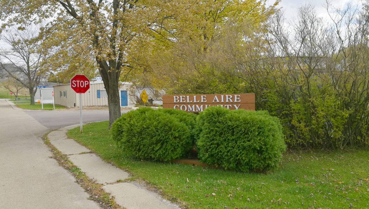 Belle Aire Sign 1