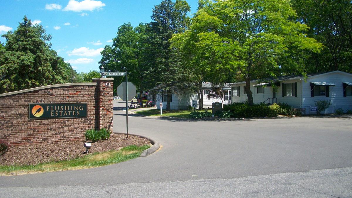 Flushing Estates Sign